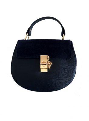 Leren-tas-Chloé-blauw blauwe navy blue-musthave-saddle-bag-leer-suede-musthave-tassen-online-kopen-goedkoop-merk-1-397x400