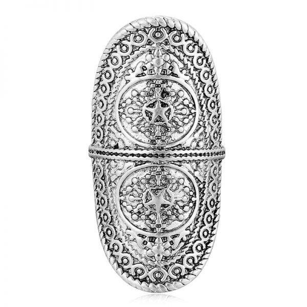 Ring Boho Zilver mooie zilveren ringen print online kopen accessoires zilver goedkope sieraden online rings