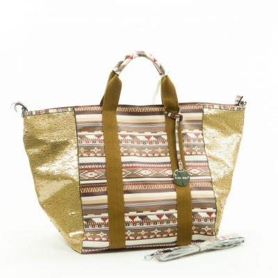 Tas Eloise leuke aztec print glitters tassen hippe musthave bags tassen online kopen leuke tas open