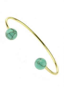 Armband marble turquoise mint gouden armband hippe musthave armbanden bracelets online kopen