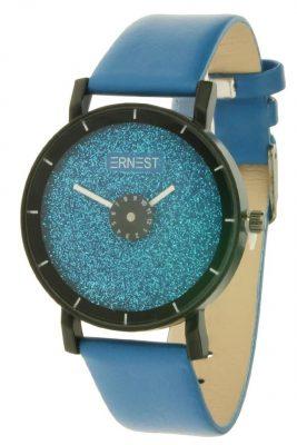 Horloge Sparkle blauwe blauwe musthave ernest horloges online goedkope klokjes dames horloges kopen online