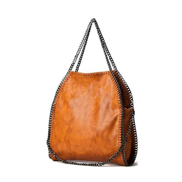 tas-Croco-Stella-Chains cognac -croco-kroko-print-tas-kettingen-musthave-it-bag-musthave-tas-met-kettingen-online-kopen-goedkoop cheap