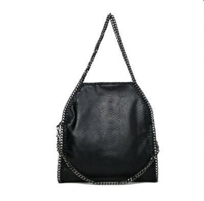 tas-Croco-Stella-Chains zwart zwarte-croco-kroko-print-tas-kettingen-musthave-it-bag-musthave-tas-met-kettingen-online-kopen-goedkoop cheap