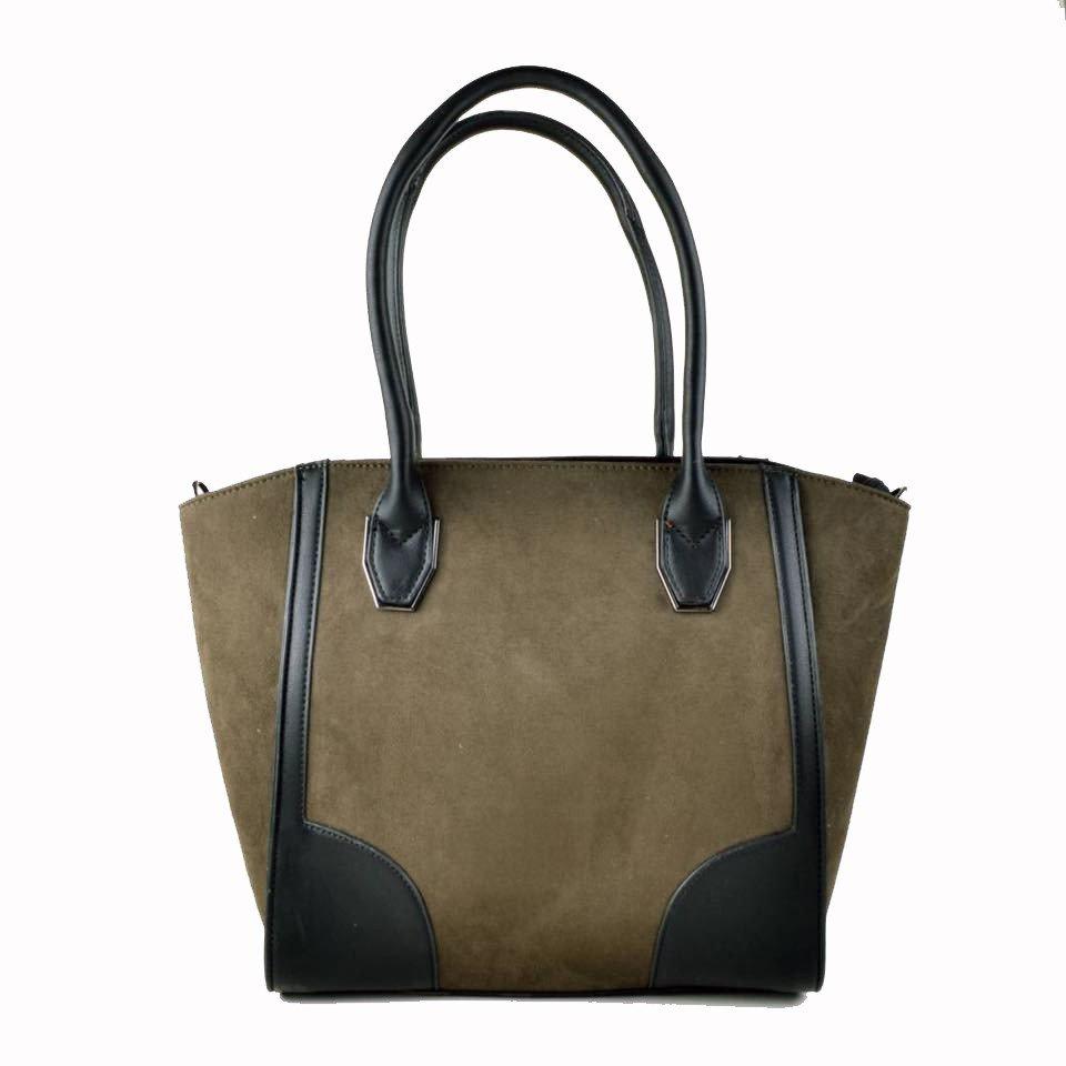 Tassen Online Beslist : Handtas levi mooie groene handtassen met su?de look feel