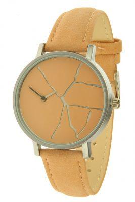 Horloge Kelly zalm creme ernest horloges musthave watches online bestellen kopen klokjes dames horloges