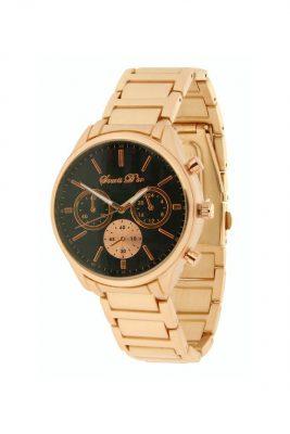 Horloge souris d'or gouden band zwarte zwart kast musthave horloges klokken onlne kopen bestellen