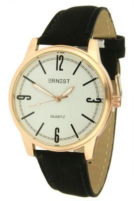 Horloge Tessa Rose goud gouden horloge zwart zwarte band kast musthave horloges onlne kopen bestellen ernest horloges