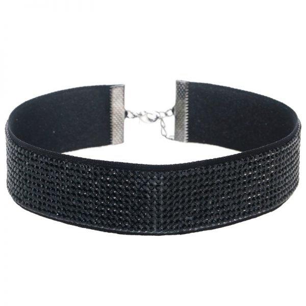 choker-diamonds-zwarte-chockers-zwarte-steentjes-chique-luxe-kettingen-online-yehwang-sieraden-kopen-online