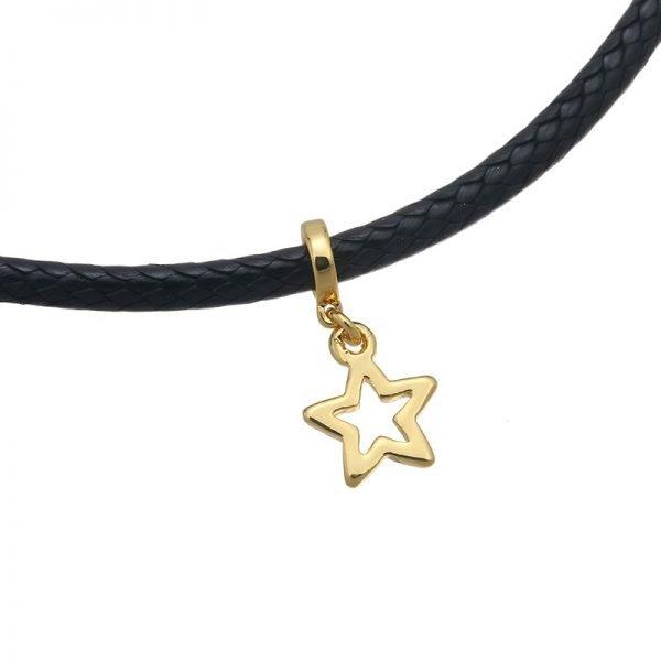 choker-little-star-zwart-zwarte-gouden-bedel-goud-ster-chokers-online-musthave-kettingen-dames-chique-accessoires-details
