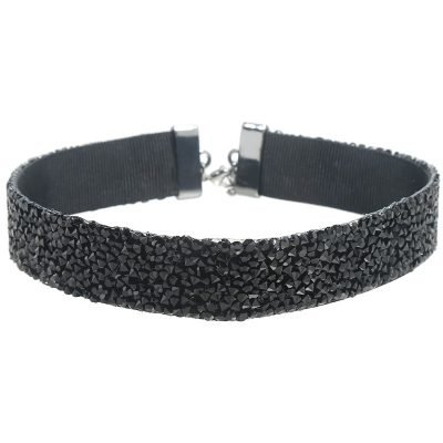 choker-ultimate-glam-zwart-zwarte-brede-chokers-ketting-zwarte-stenen-met-slotje-musthave-kettingen-vrouwen