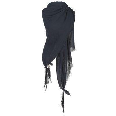 sjaal-boho-feathers-zwart-zwarte-grijze-katoenen-sjaal-omslagdoeken-met-veren-bohemian-musthave-ibiza-online