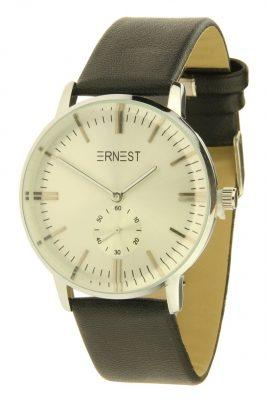 horloge-luca-zwart-zwarte-band-creme-witte-zilver-klokkast-musthave-horloges-dames-online-ernest-waterdicht-kopen