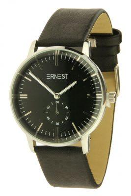 horloge-luca-zwart-zwarte-band-zilveren-klokkast-musthave-horloges-dames-online-ernest-waterdicht-kopen