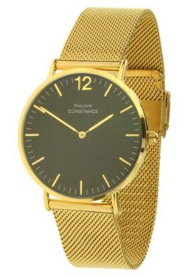 horloge-philippe-wow-goud-gouden-horlogeband-zwarte-kast-musthave-horloges-online-kopen-bestellen-philippe-constance-rvs-horloges-armbanden