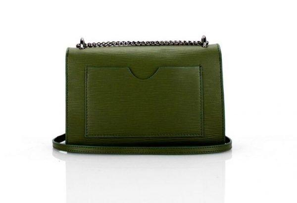leren-tas-louis-groen-groene-leren-tassen-met-zilveren-slot-en-ketting-leder-look-a-like-tassen-online-kopen-achterkant