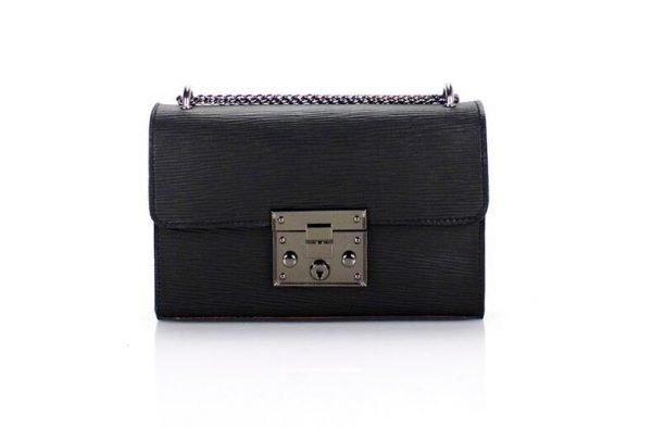 leren-tas-louis-zwart-zwarte-leren-tassen-met-zilveren-slot-en-ketting-leder-look-a-like-tassen-online-kopen