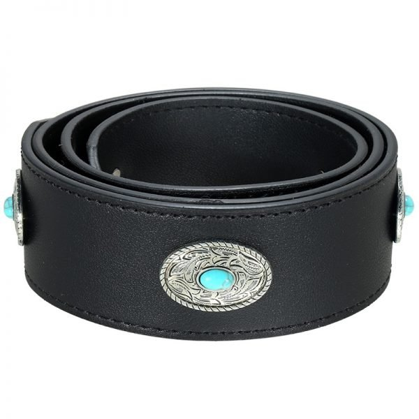 Losse Tassen hengsel Boho zwart zwarte zilveren turquoise accesoires losse verstelbare tassen hegsel dames accesoires