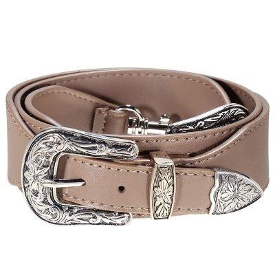 Losse Tassen hengsel Cowboy bruin bruine zilveren accesoires losse verstelbare tassen hegsel dames accesoires