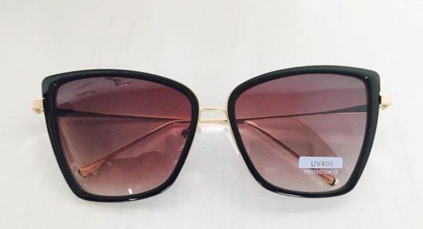 Zonnebril Ava bruin bruine goedkope look a like zonnebrillen dames online musthave hippe fashion brillen online plastic
