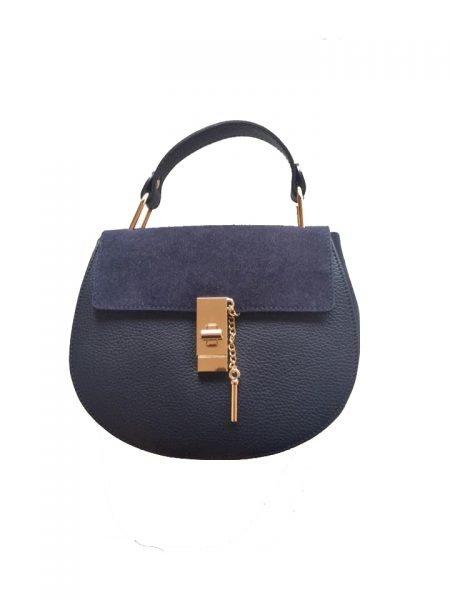 Leren-tas-Chloé-blauw blauwe-leger-army-musthave-saddle-bag-leer-suede-musthave-tassen-online-kopen-goedkoop-luxe-it-bags-450x600