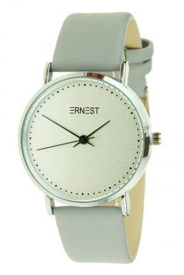 Ernest Horloge Silver Soft grijs grijze pastel dames horloges zilveren kast verschillende soorten horloges online