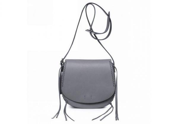 Tas Angel grijs grijze dames schouder cross body bag festival tassen vrouwen fashion tassen online bestellen