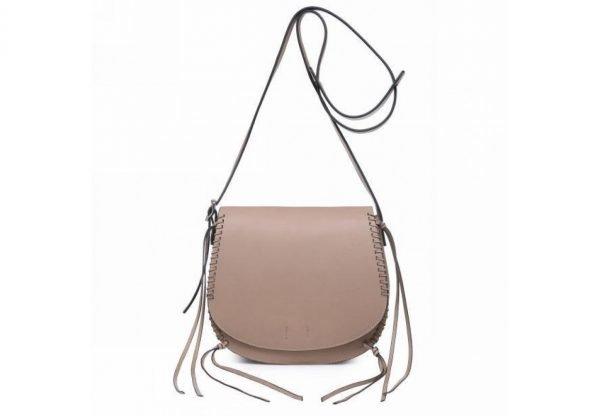 Tas Angel taupe dames schouder cross body bag festival tassen vrouwen fashion tassen online bestellen