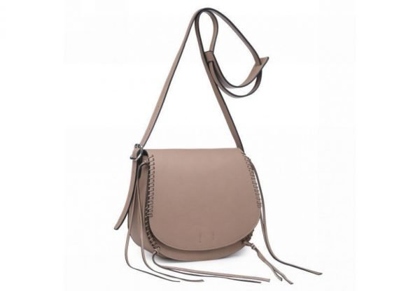 Tas Angel taupe dames schouder cross body bag festival tassen vrouwen fashion tassen online bestellen zijkant