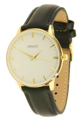 horloge-andrea fancy zwart zwarte goud en kast musthave-pastel-kleuren-horloges-hippe-leuke-musthave-watches-online-kopen-ernest horloges