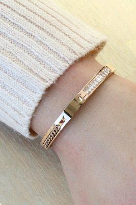 Armband chains stones goud gouden dames armbanden met ketting getails en steentjes diamandjes strass musthave accessoreskopen