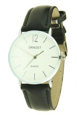 Dames Horlog Zanna zwart zwarte ernest dames horloges zilveren kast accessoires fashion horloges online