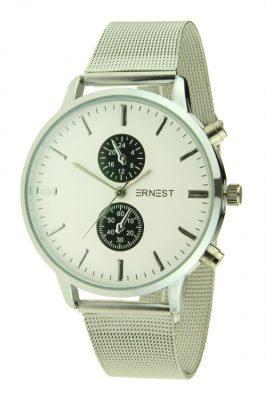 Dames RVS Horlog Willow zilver zilveren ernest dames horloges zilveren kast accessoires fashion horloges online