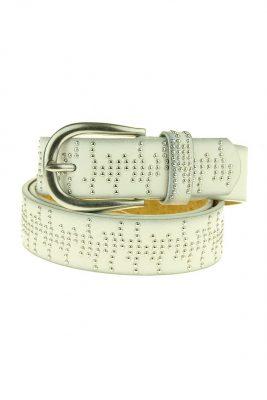 Dames Riem Stamin Studs wit witte brede dames riemen centuren online zilveren gesp riemen vrouwen kopen bestellen