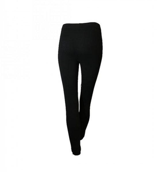 Legging lace up zwart zwarte legging met veters voor open sexy legging dames kleding online achterkant