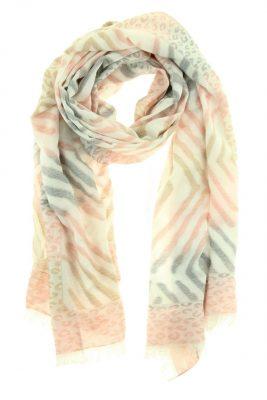 Vicose Sjaal Animal roze pink Panther zebra print dames sjaals online kopen bestellen