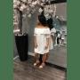 Witte Jurk Broderie open schouders off the shoulders wit dames festival musthave zomer jurken online kopen