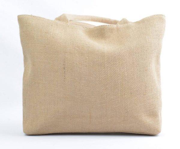 Jutte Shopper Pink boho mooie dames shoppers zomer kwastjes print online tassen hippe leuke tas achterkant