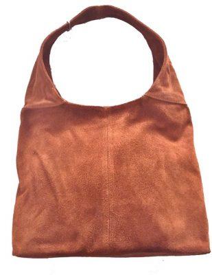 Suede Tas Mille cognac cames tassen suede goedkope dames tassen itbags online bestellen kopen guiliano