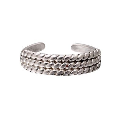 Zilveren Ring Three Braids zilver dames ringen gevlochten zilvere open achterkant accessoires rings online kopen goedkoop