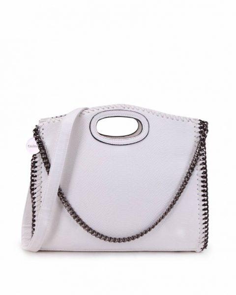 Handtas Croco-Stella-Chains-wit witte-croco-kroko-print-tas-kettingen-musthave-it-bag-look-a-like-tas-met-kettingen-online-kopen-goedkoop-cheap werktassen laptoptas