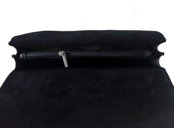 Leren-tas-Diony-Suede strook-zwart zwarte -slangen-element-ketting-hengsel-look-a-like-Dionysus-it-bags-2017 kopen
