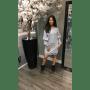 Grijze Sweater Jurk Emalie grijze wollen dikke jurk lange mouwen dress dames kleding mode musthaves online