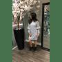 Grijze Sweater Jurk Emalie grijze wollen dikke jurk lange mouwen dress dames kleding mode musthaves online side