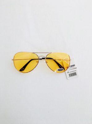Pilotenbril-Gold-Clear- gouden piloten gele glazen-aviator-brillen-doorzichtige geel-glazen-musthave-bril-dames-fashion
