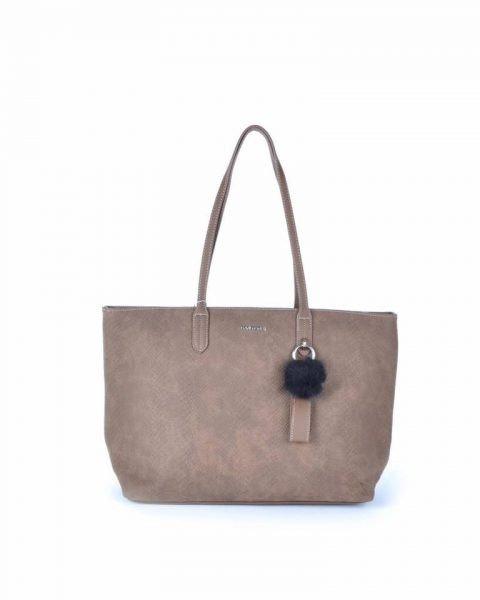 Shopper Soho snake taupe david jones shoppers handtas tassen fashion dames tassenhanger musthave tassen online