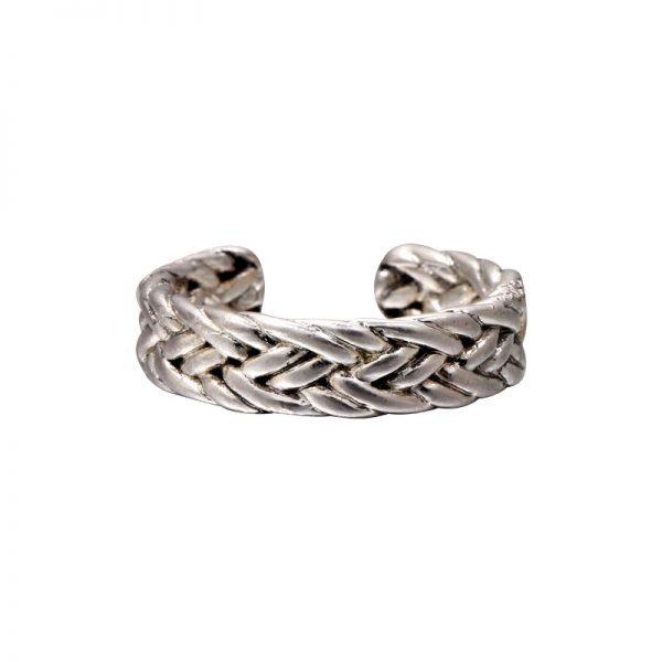 Zilveren-Ring-Trendy Braid--zilver-dames-ringen-kabels-zilvere-open-achterkant-accessoires-rings-online-kopen-goedkoop-600x600