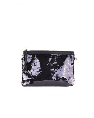 Clutch pailletten zwart zwarte clutchtas clutches met zwarte pailletten glitter sparkle it bags kleine tassen online
