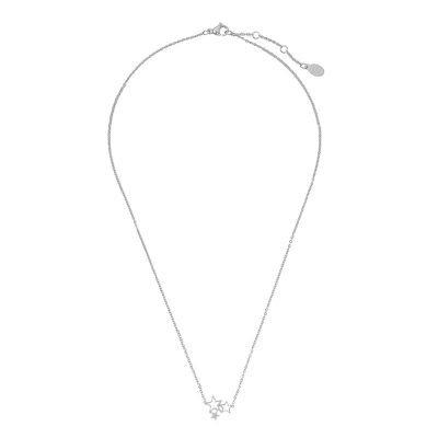 Kertting 3 Stars zilver zilveren dunne dames kettingen drie sterren fashion sieraden necklage online bestellen
