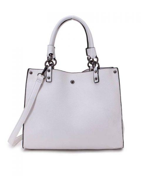 Handtas Classic beige creme musthave dames tassen werk tassen office bags itbags giuliano online bestellen goedkope schoudertas