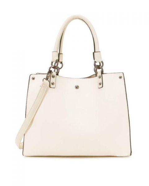 Handtas Classic creme off white musthave dames tassen werk tassen office bags itbags giuliano online bestellen goedkope schoudertas